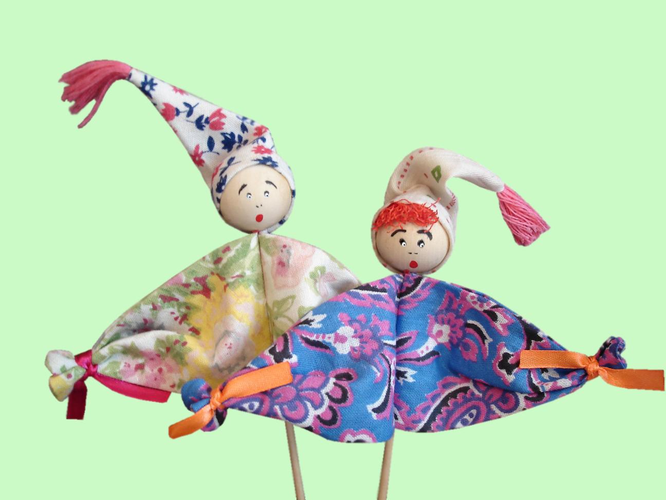 Как сделать кукол вертепа своими руками